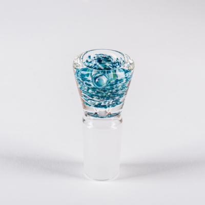 Weiß-Blau-Türkis